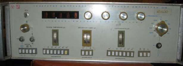 Схема генератора г5-53